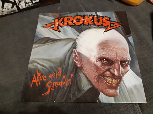 Krokus/1988/alive and screamin/arista/ger/nm-