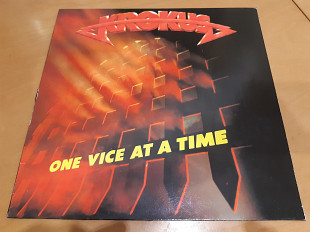 Krokus/82/one vice at a time/arista/ger/ex+
