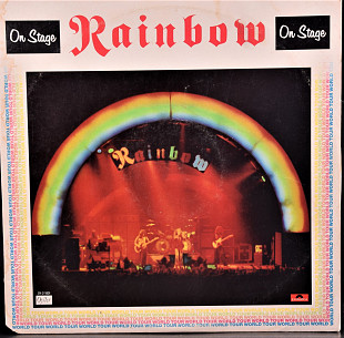 Rainbow ‎– On Stage - Polydor ‎2672 038, Germany