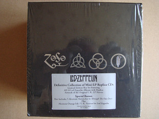 12CD Led Zeppelin ‎– Definitive Collection Of Mini-LP Replica CDs