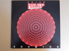 Uriah Heep ‎– Equator (Portrait ‎– PRT 26414, Portrait ‎– 01-026414-20, Holland) NM-/EX+