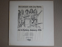 Eagles ‎– Live In Sydney, Australia 1976 (Anti-Gravity Records, Germany, Unofficial Release) EX+/EX+