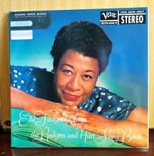 Ella Fitzgerald ‎– Ella Fitzgerald Sings The Rodgers And Hart Song Book