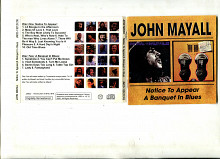 Продам 2 CD John Mayall – 1975, 1976 (booklet 8 p.)