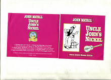 "Продам CD John Mayall ""Uncle John's Nickel"" – 1988 Uncle John's Nickel Guitar"