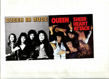 Родам компакт-диск Queen «Sheer Heart Attack» / Queen «In Nuce» 2 в 1