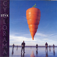 "Продаю CD Styx ""Cyclorama"" 2003 (Буклет 4 страницы)"