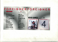 Продам CD Foreigner «Head Games» 1979 / «4» 1981