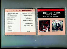 "Продам CD John Lee Hooker ""Hooker & The Hogs"" – 1965 / ""Never Get Out These Blues Alive"" – 1972 Сері"