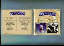 Продам CD Scorpions «Blackout» – 1982 / «Love At First Sting» – 1984