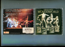 "Продам CD Uriah Heep ""Wonderworld"" – 1974 + 4 bonus tracks"