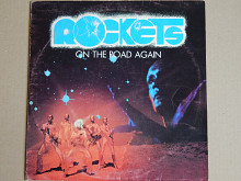 Rockets ‎– On The Road Again (Derby ‎– DBR 20014, Italy) poster EX+/EX+