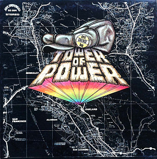 "Tower Of Power ‎ ""East Bay Grease"" - 1970 - 1st press LP."