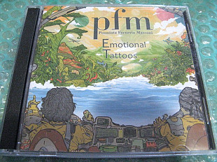 "2CD Premiata Forneria Marconi ""Emotional Tattoos"" 2017г. В КОЛЛЕКЦИЮ !!!"