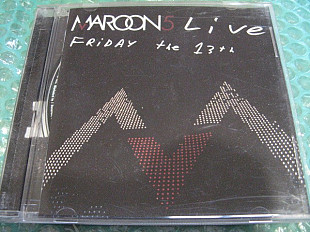 "CD Maroon 5 ""Live Friday the 13"" 2005г. В КОЛЛЕКЦИЮ !!!"