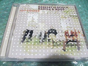 "CD Medeski Scofield Martin and Wood ""Out Louder"" В КОЛЛЕКЦИЮ !!!"
