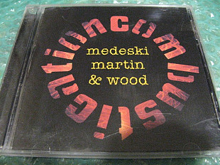"CD Medeski Martin and Wood ""Combustication"" В КОЛЛЕКЦИЮ !!!"