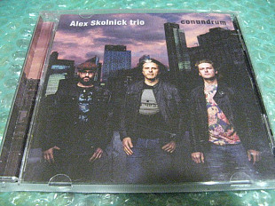 "CD Alex Skolnick trio 2018 ""Conundrum"" В КОЛЛЕКЦИЮ !!!"