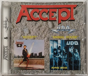 CD 2in1 Accept - Accept 1979 Udo Animal House 1987