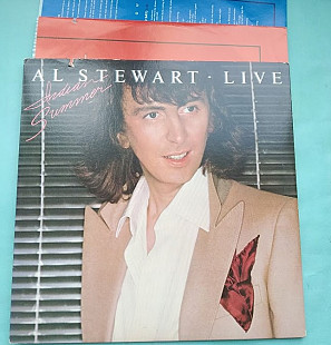 AL STEWART - Indian Summer 2LP! LIVE 1981 /arista 8607 usa