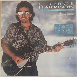 George Harrison ‎ Cloud Nine Germany 1987