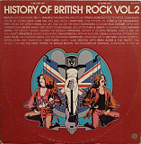 """History Of British Rock Vol. 2"" - 2LP - 1974"