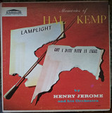 Пластинка Henry Jerome And His Orchestra ‎– Memories Of Hal Kemp (1957, Forum F 9053, USA) Jazz