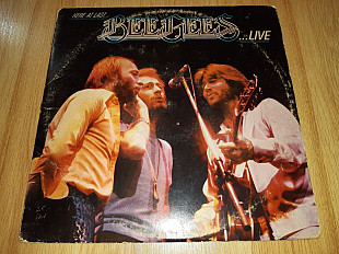 Bee Gees ‎ (Here At Last... Bee Gees ...Live) 1977. (2LP). 12. Vinyl. Пластинки. U.S.A.