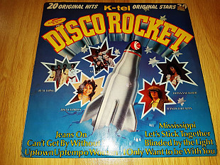 V.A. Elton John, Smokie, Donna Summer, Bryan Ferry (Disco Rocket) 1976. (LP). 12. Vinyl. Пластинка.