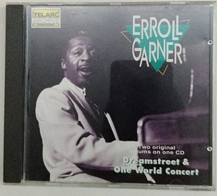 CD 2in1 Erroll Garner - Dreamstreet - One World Concert
