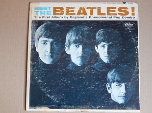 The Beatles ‎– Meet The Beatles! (Capitol Records ‎– T-2047, US) VG+/EX-
