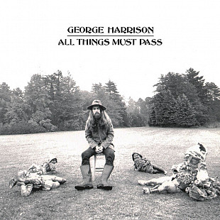 "George Harrison ‎ ""All Things Must Pass"" - 3 LP + Box"