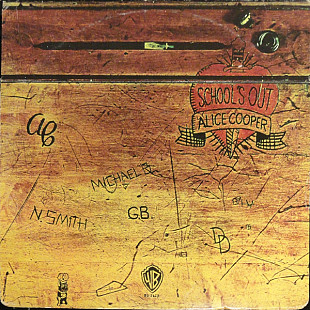 "Alice Cooper ‎ ""School's Out"" - 1972 - LP."