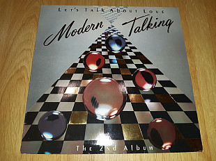 Modern Talking (Let's Talk About Love. The 2nd Album) 1985. (LP). 12. Vinyl. Пластинка. Mega Records