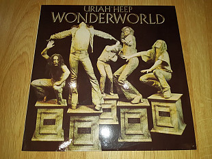 Uriah Heep ‎ (Wonderworld) 1974. (LP). 12. Vinyl. Пластинка. SNC Records. Russia.