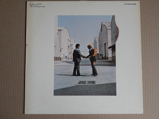 Pink Floyd ‎– Wish You Were Here (Harvest ‎– 27 310-2, Germany) NM-/NM-