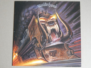 Motörhead ‎– Orgasmatron (GWR Records ‎– GWLP 1, UK) insert NM-/NM