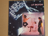 La Bionda ‎– High Energy (Baby Records ‎– BR 56001, Italy) insert EX+/EX+