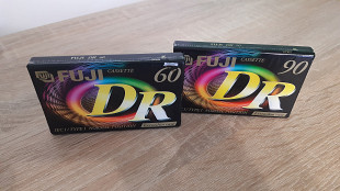 Касети FUJI DR 60, DR 90 (Release year: 2001)