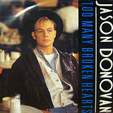 "Jason Donovan - Too Many Broken Hearts (12"")"