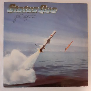 Status Quo ‎– Just Supposin'.1980, EX/EX, FRA/GER,