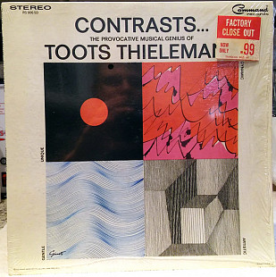 Toots Thielemans - Contrasts... The Provocative Musical Genius Of Toots Thielemans (LP, Album)