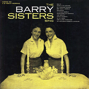 The Barry Sisters - The Barry Sisters Sing... (LP, Album, RE)