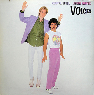 Daryl Hall & John Oates - Voices (LP, Album, RE, Col)