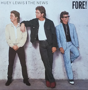 "Huey Lewis and the News ""Fore !"""