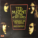 Ted Nugent And The Amboy Dukes - Marriage On The Rocks - Rock Bottom (LP, Album)