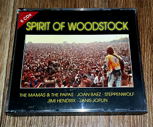Фирменный Spirit Of Woodstock 6 CD
