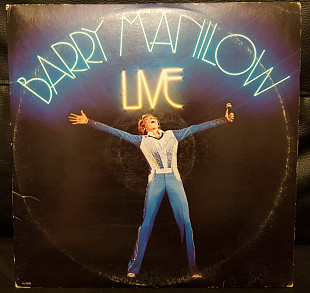 "Barry Manilow ‎– ""Live"" (US 1977)"