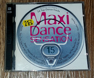 Фирменный Maxi Dance Sensation - Vol. 15
