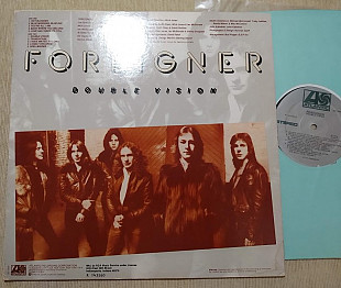 FOREIGNER - DOUBLE VISION 1978 / Atlantic , usa , m-/vg++